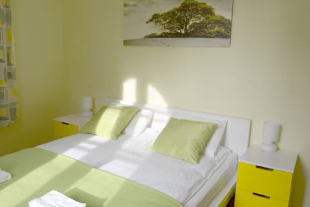 Bright room, b&b, guesthouse Soul Ljubljana - Lubiana - Bed & Breakfast