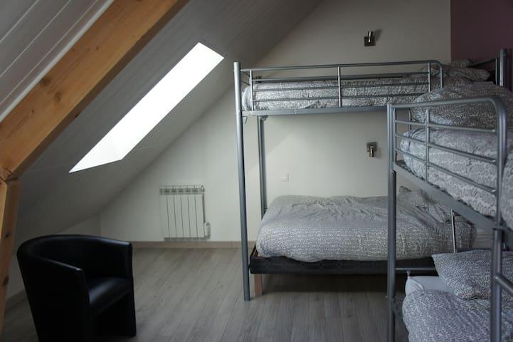 2 chambres indépendante 6 pers max proche disney