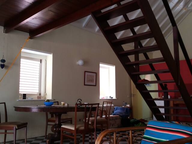 Comfortable Artist Residency in Town for 2 persons - Willemstad - Loft