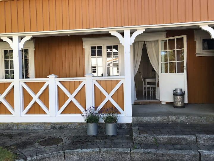 Gjestehuset Gamle Teglværket - landlig idyll