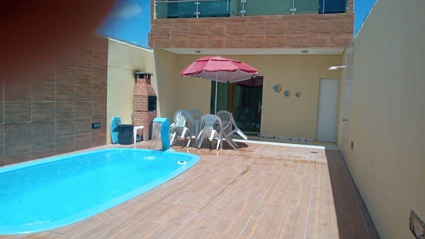 Alugo casa Tamandaré/Carneiros a 300m do mar