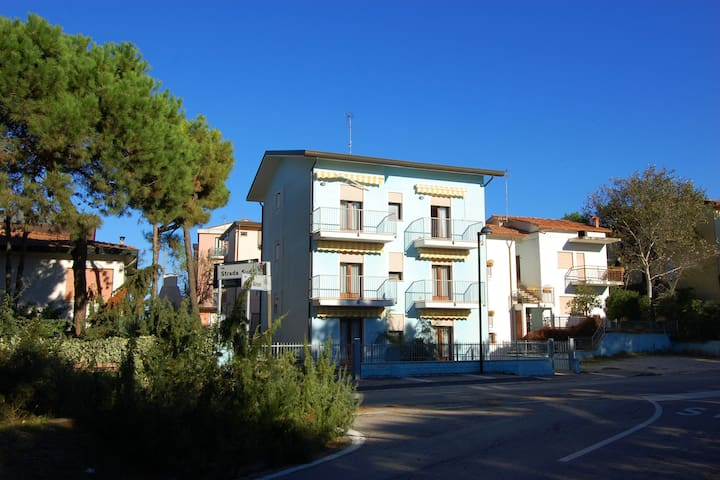 Modern Apartments in Rosolina Mare with Private Parking