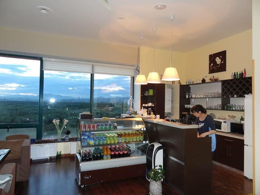 The cafe is capacity of 30-40 people we'll serve you variety of delicious meals