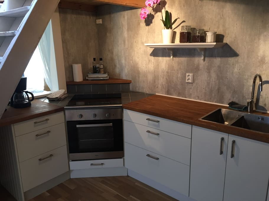 Kitchen with oven