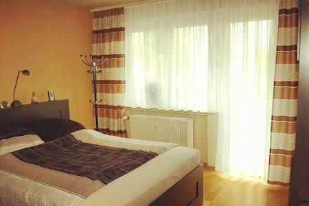 Stylish room with balcony in the city centre