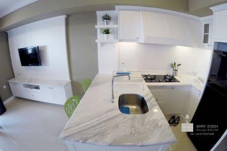 One bedroom turned studio with spacious balcony - Kecamatan Setiabudi
