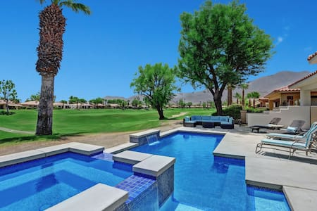 PGA West, Brand NEW pool and spa on Golf Course.