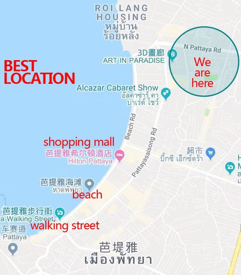 Best location to stay for your holiday