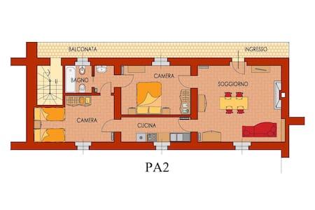 Appartamento 2° piano Palazzo Barbò - Torre Pallavicina - Lejlighed