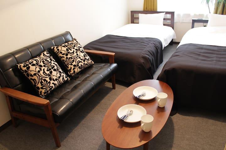 New opwn cozy room★Namba DOTONBORI 10 min on foot - Naniwa-ku, Ōsaka-shi - Byt