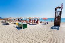 Spiaggia privata.