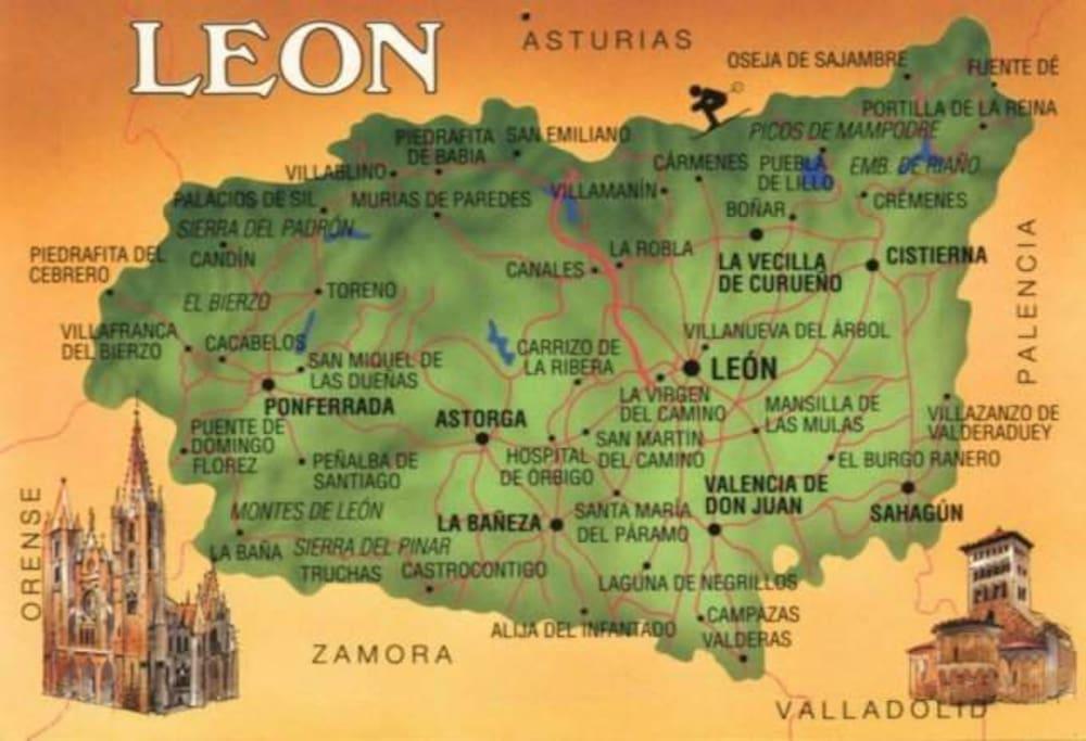 Leon Map