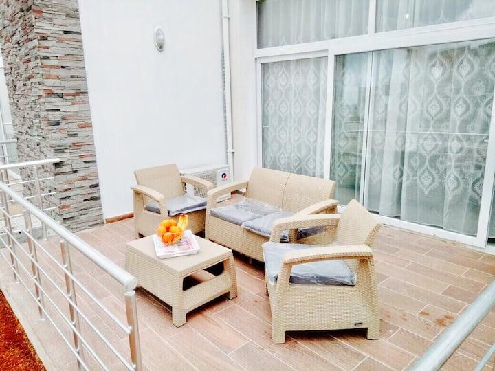 Апартаменты 2 комнаты  в комплексе CAESAR BEACH*