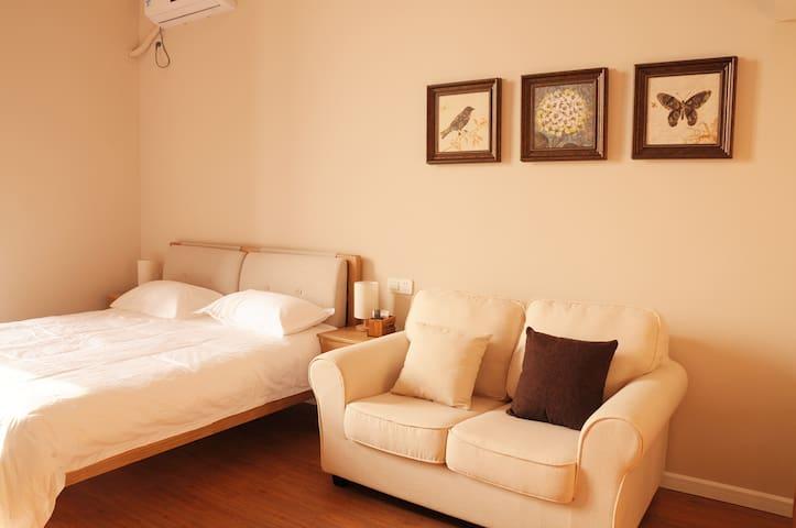 【10号】苏州木渎古镇loft公寓 - Suzhou - Daire