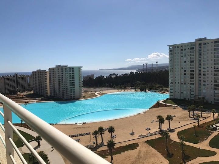 Nuevo: Departamento Algarrobo Hermosa Vista al Mar