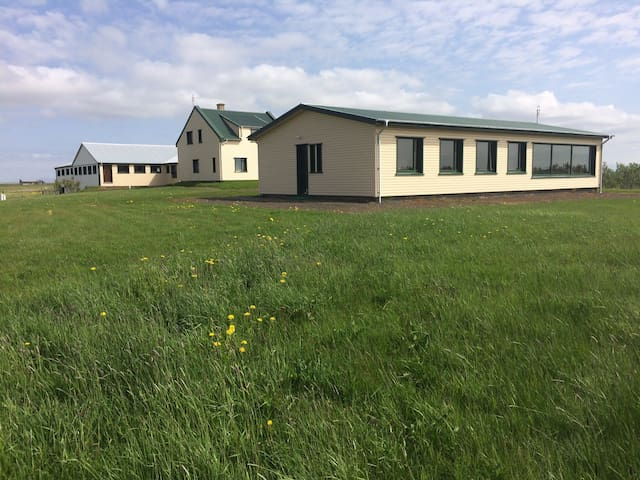 A newly renovated luxury farmhouse. - Rangárþing eystra - Casa