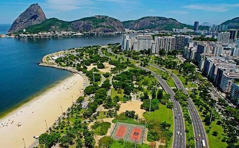 Praia e aterro do Flamengo
