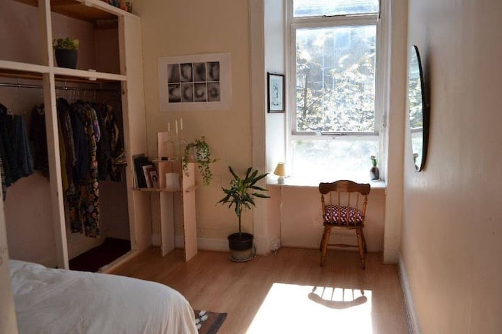 Own room in cosy and spacious apartment, West End