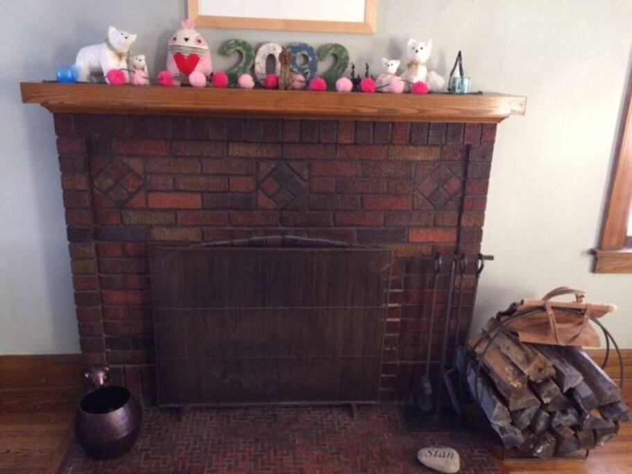 Make a warm fire!