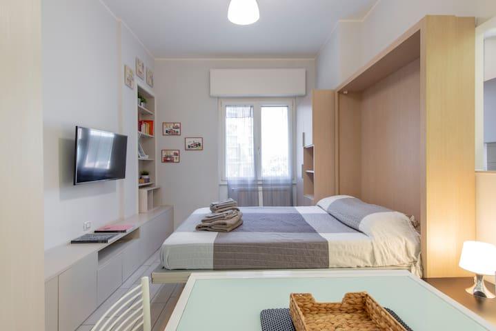 Confortable et pratique studio proximité métro M5