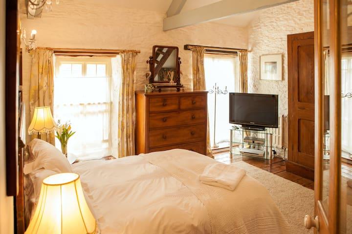 Award winning converted mill near New Quay -Room 1 - Pontsian - Bed & Breakfast