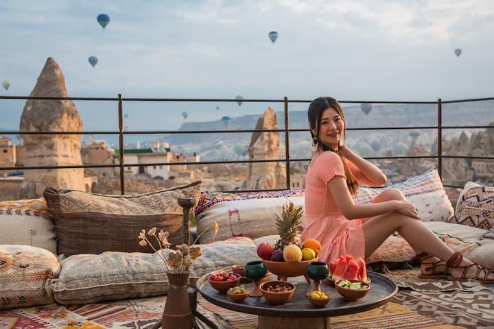 Lunar Cappadocia Hotel Deluxe Double Room