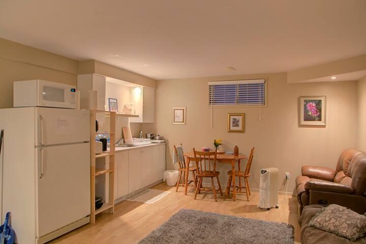 Basement Apartment - Aylmer,  15 mins to Ottawa