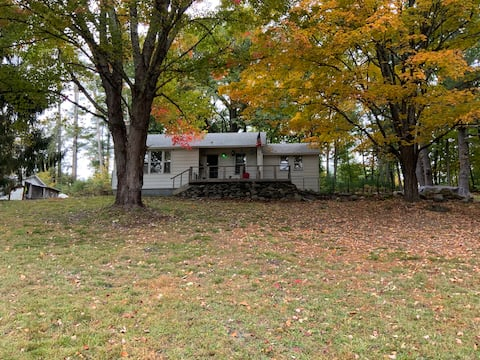 Casa de campo de fuga na Montanha Catskill