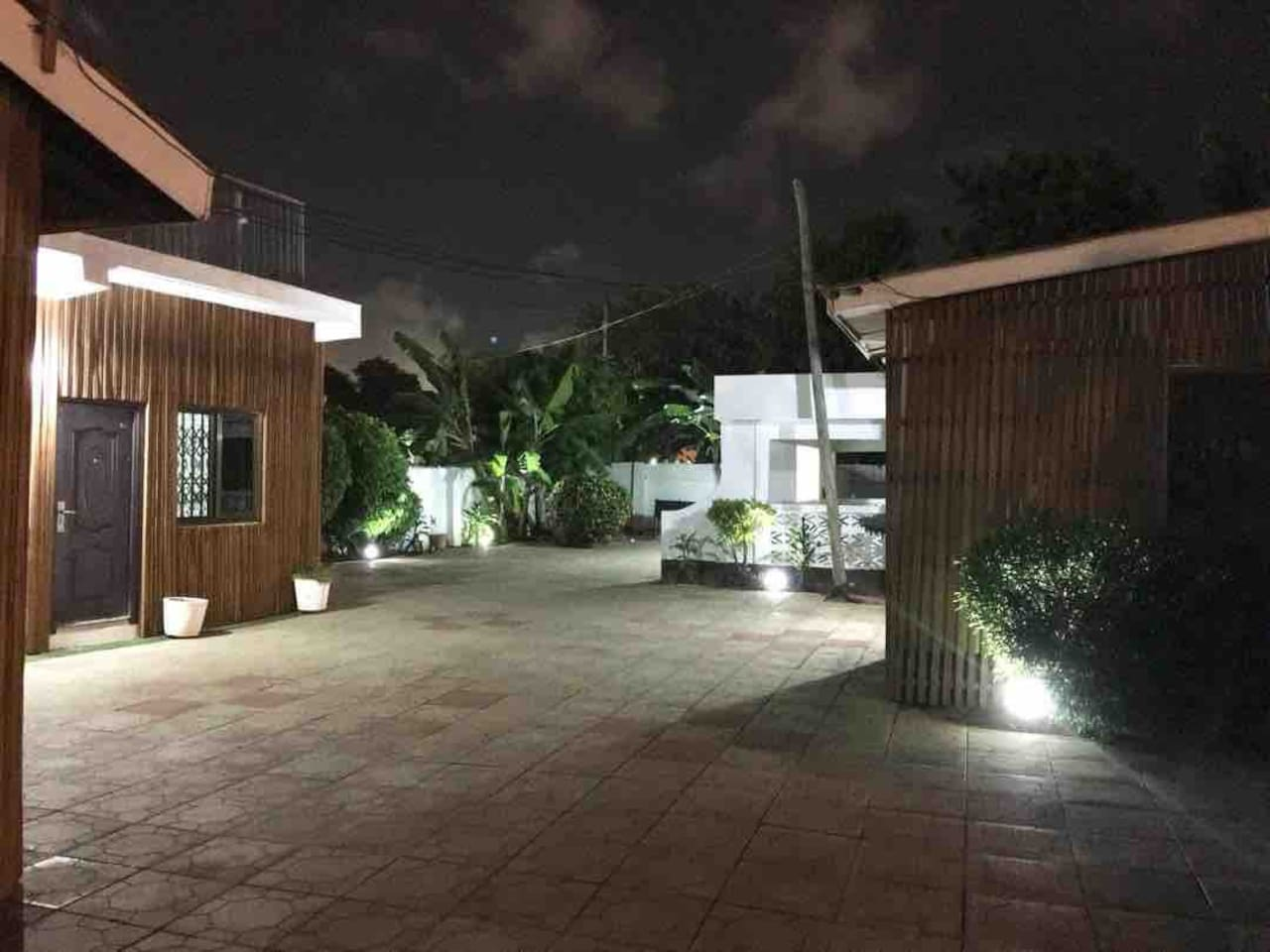Night view of the house