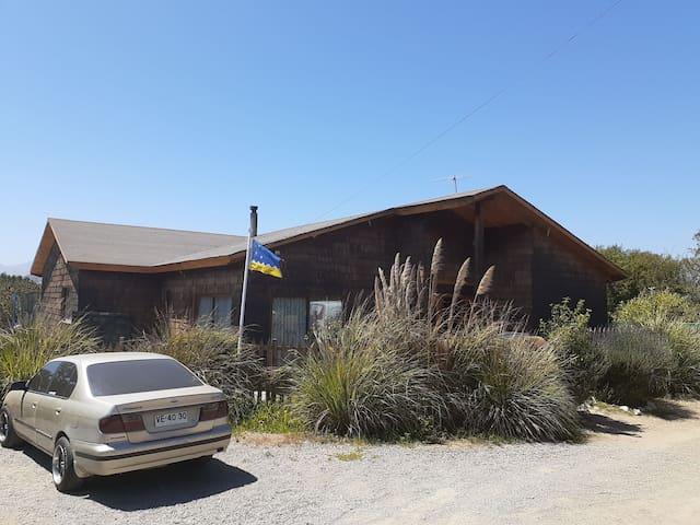 Casa estilo sureño a solo 9 km de La Serena