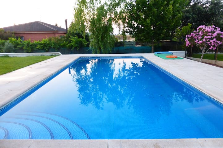 Beautiful Villa with big pool as holiday home
