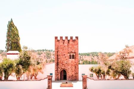 Quarto romântico em Torre medieval - Gavião