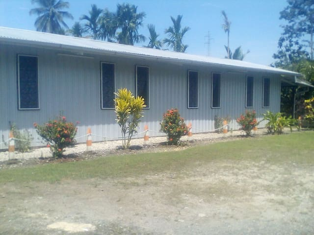 Laughon Transit House, Madang, Papua New Guinea.