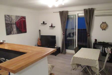 Agréable appartement familial au coeur du village - Argelès-sur-Mer