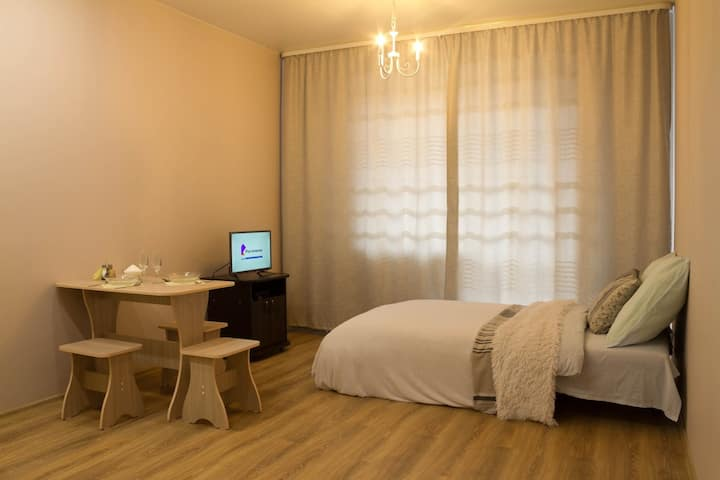 Уютная студия в Изумруде