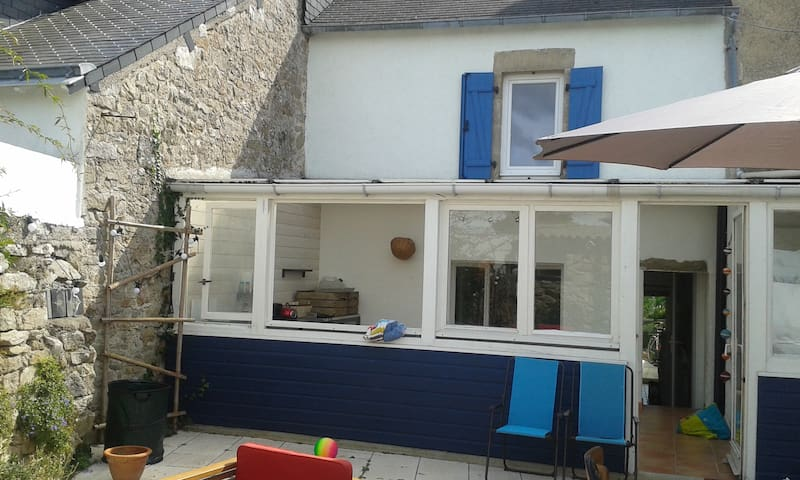 Grande maison au calme entre mer et marais - Batz-sur-Mer - Casa