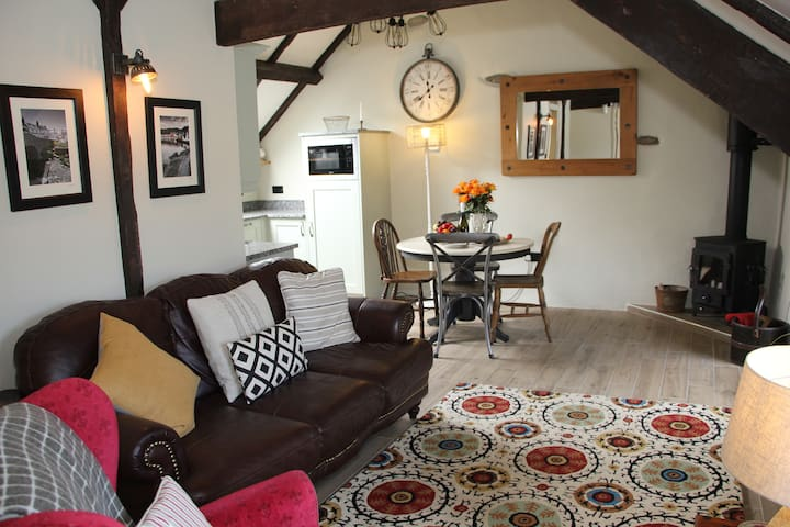 Cute barn conversion on Llŷn Peninsula farm