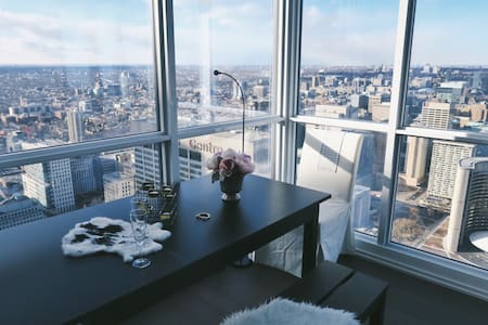 270 view top floor downtown goal - Toronto - Wohnung