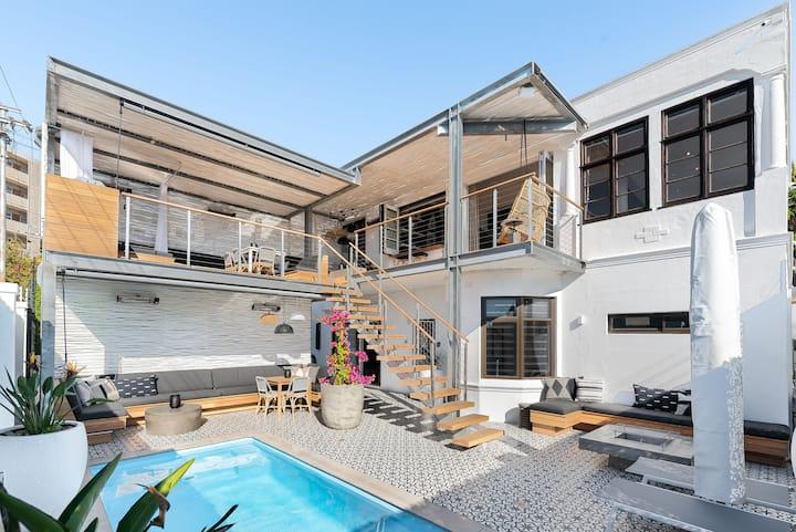 Casa Outlaws Luxury Pool Villa | Sun Cabana | BBQ