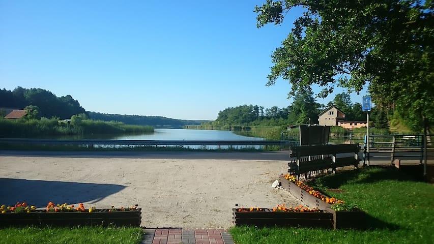 Wrzosowy Młyn - Pokój nad jeziorem