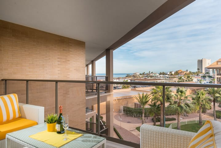 Luxury Penthouse Duplex Apartment- great sea views