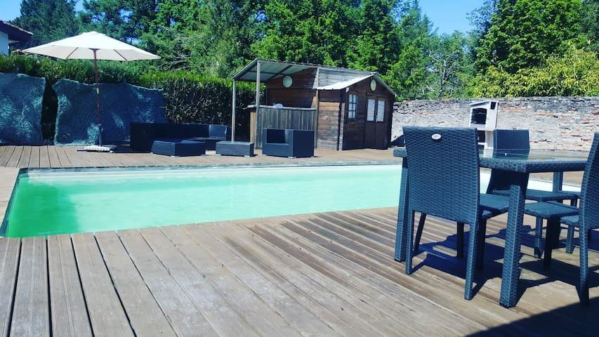 Maison de vacance avec piscine privée chauffée