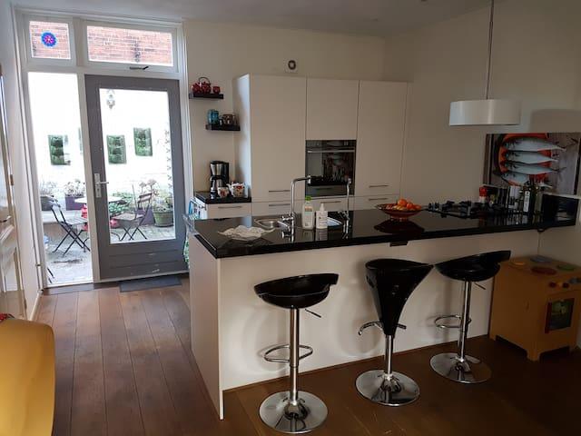 Mooi huis met bad, kindvriendelijk - Groningen - Talo