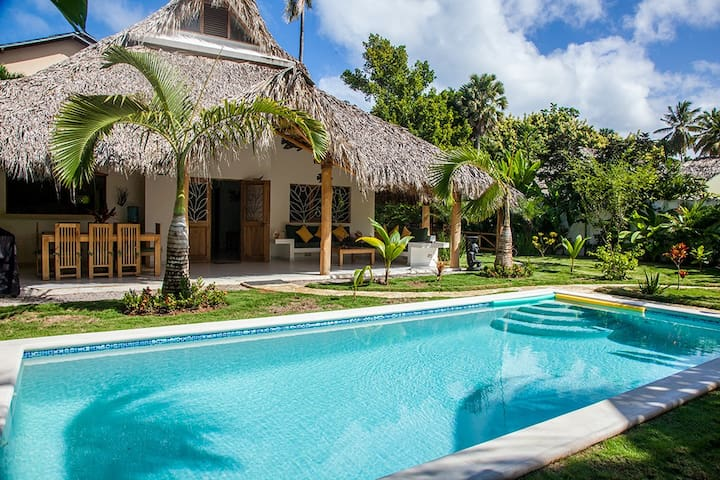 Villa Clarissa V , walk to beach!! - Las Terrenas - Maison