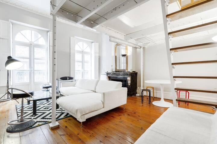 ★ Grand appartement lumineux avec mezzanine