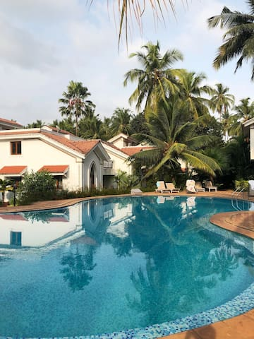 Serene oasis amidst Goan hustle and bustle
