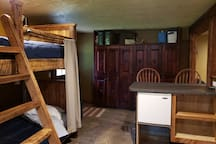 Bunks and Mini Bar