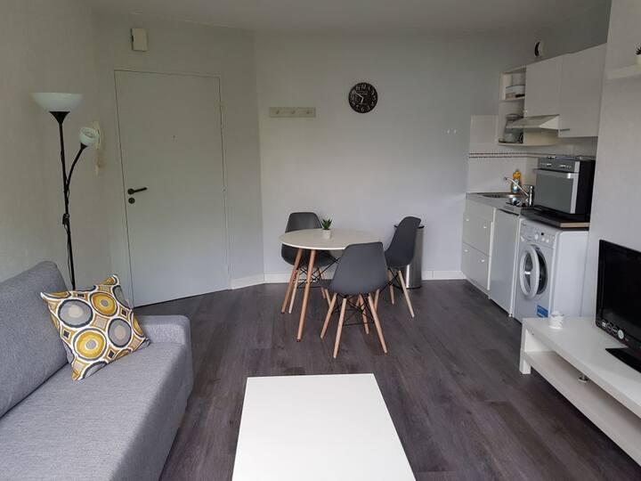Bel appartement t2+parking, calme et lumineux