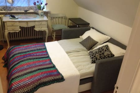 Private room for two in quiet street - A - Reikiavik - Casa