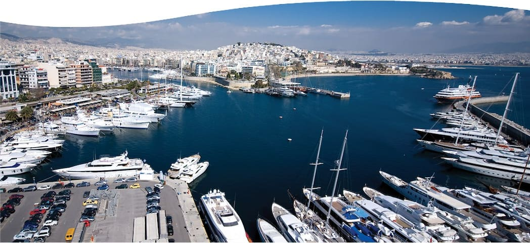 Marina Zea, Piraeus, Apartment 100m2